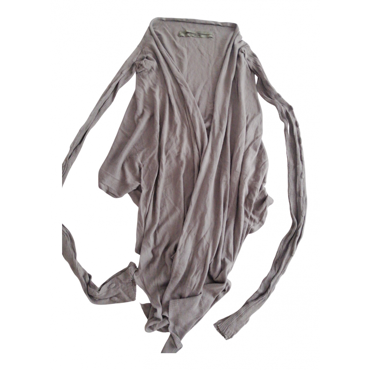 Rick Owens \N Pullover in  Grau Baumwolle