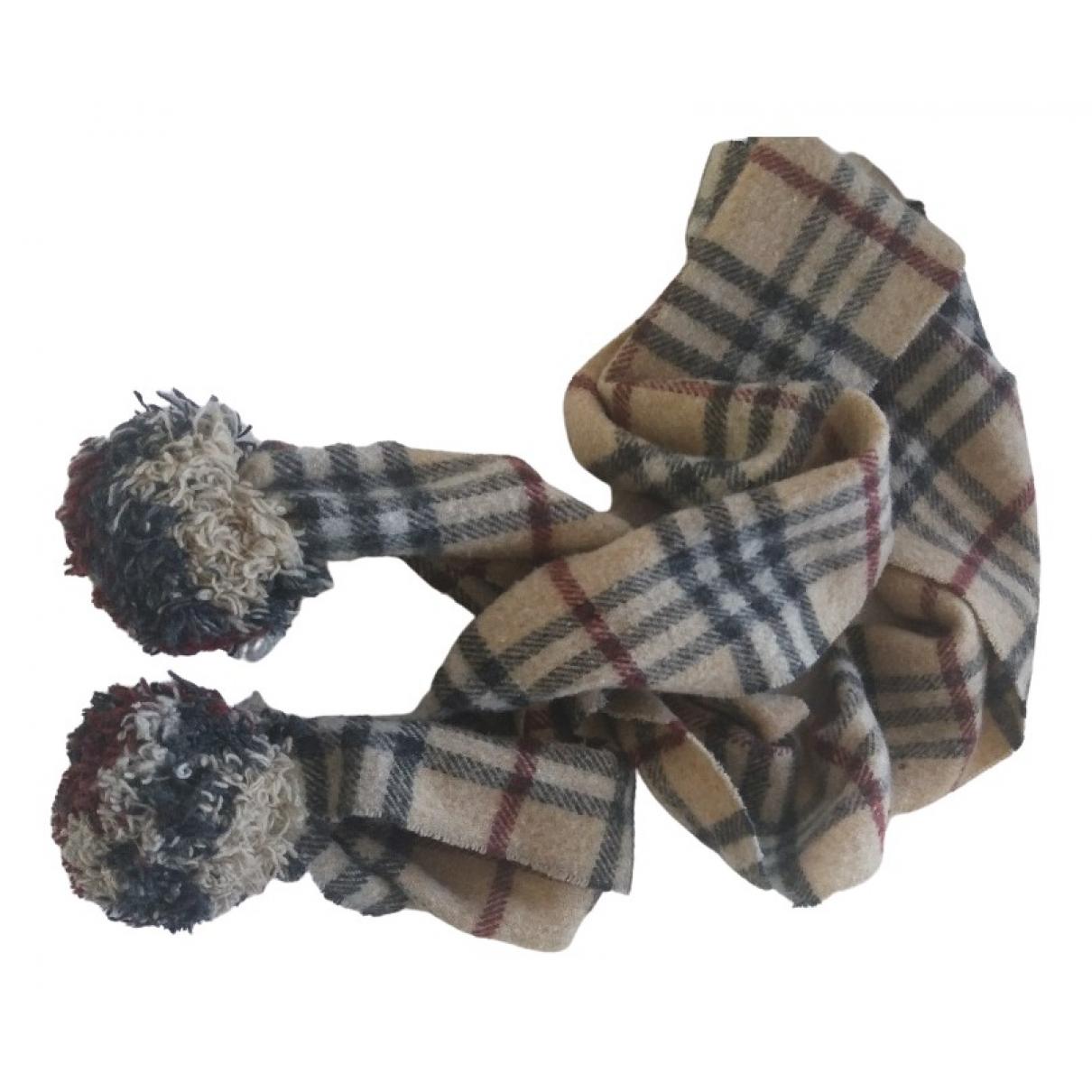 Burberry - Foulard   pour femme en laine - beige