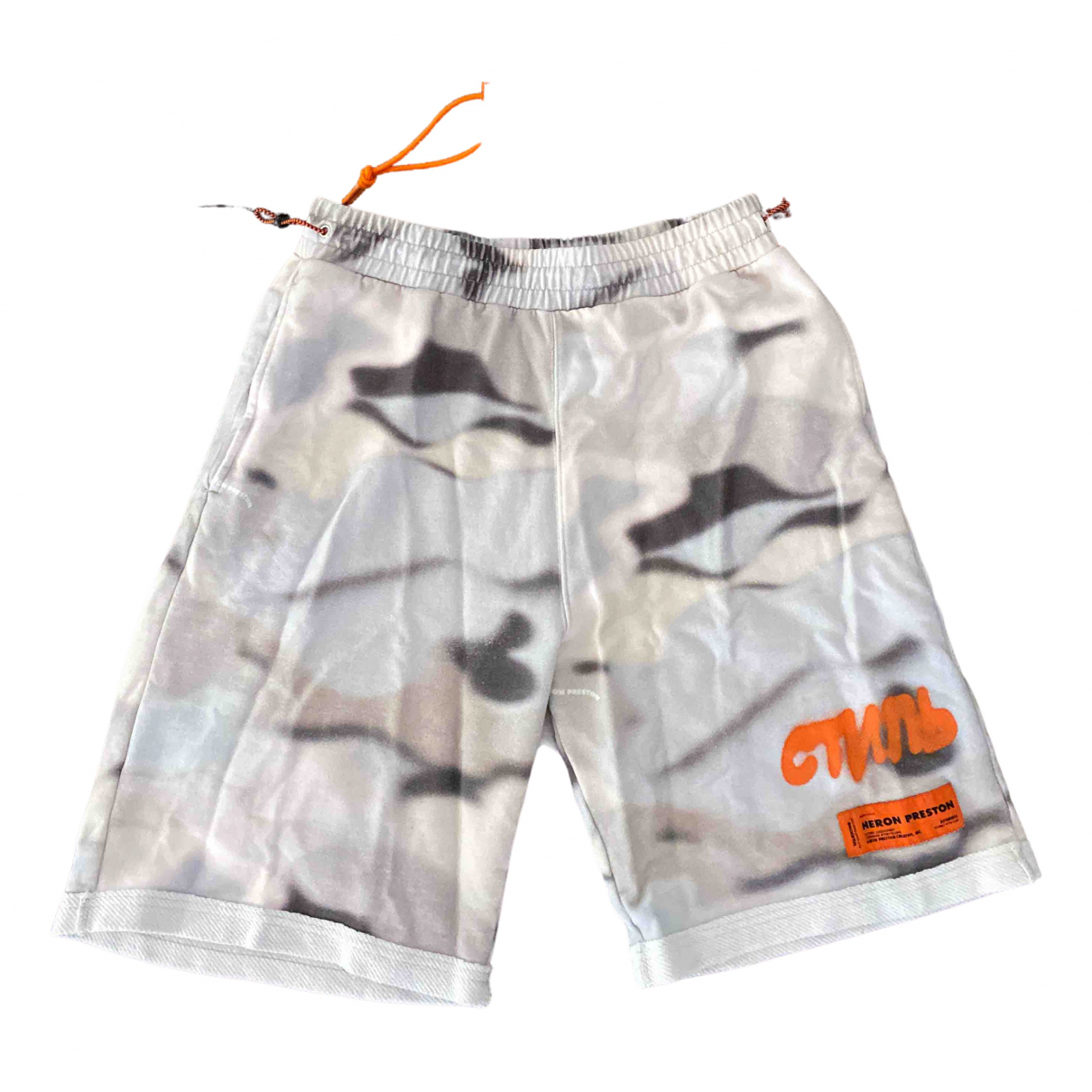 Heron Preston \N Shorts in  Weiss Baumwolle