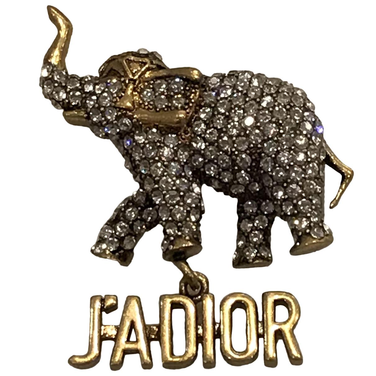 Dior Jadior Brosche in  Gold Vergoldet