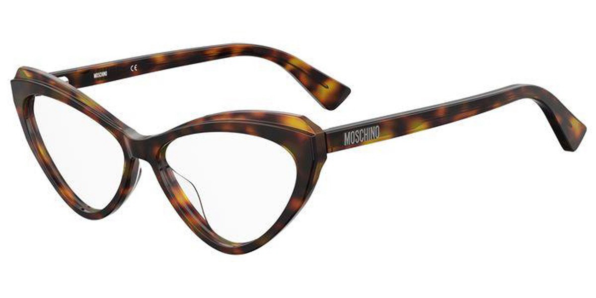 Moschino MOS568 SDP Women's Glasses Tortoise Size 54 - Free Lenses - HSA/FSA Insurance - Blue Light Block Available