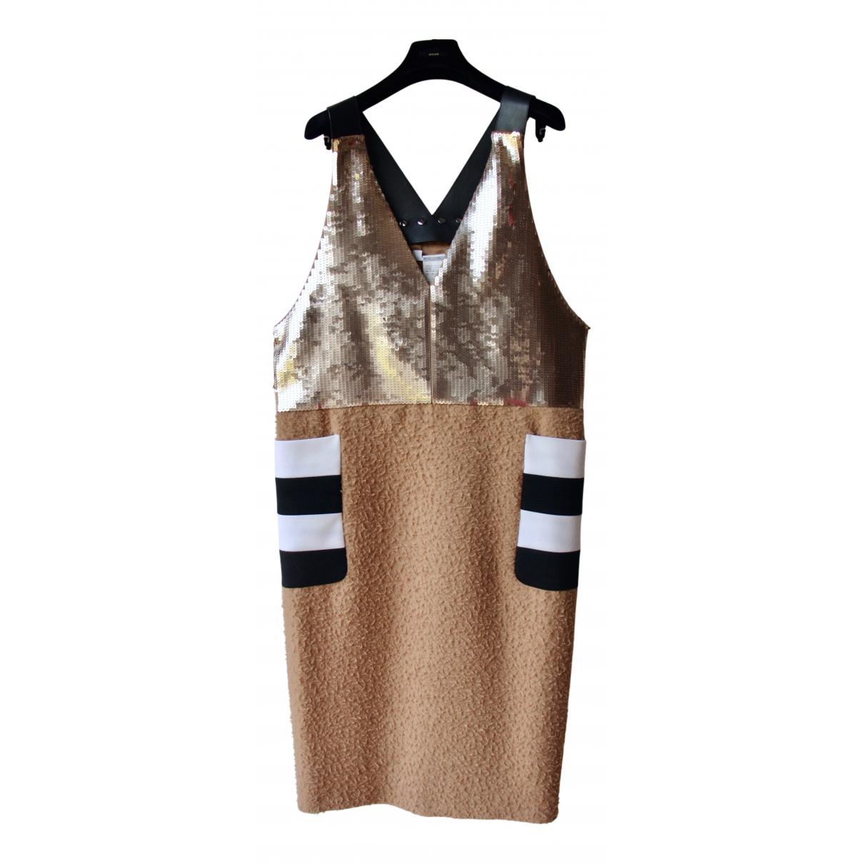 Max Mara \N Kleid in  Kamel Wolle