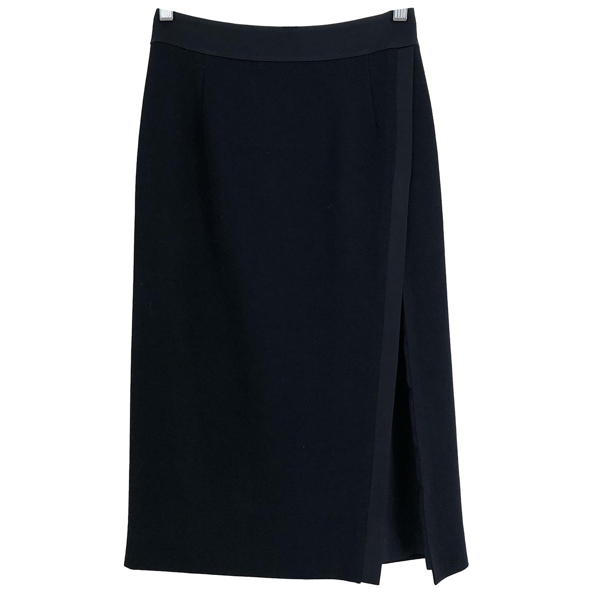 Pallas \N Black Wool skirt for Women 36 FR