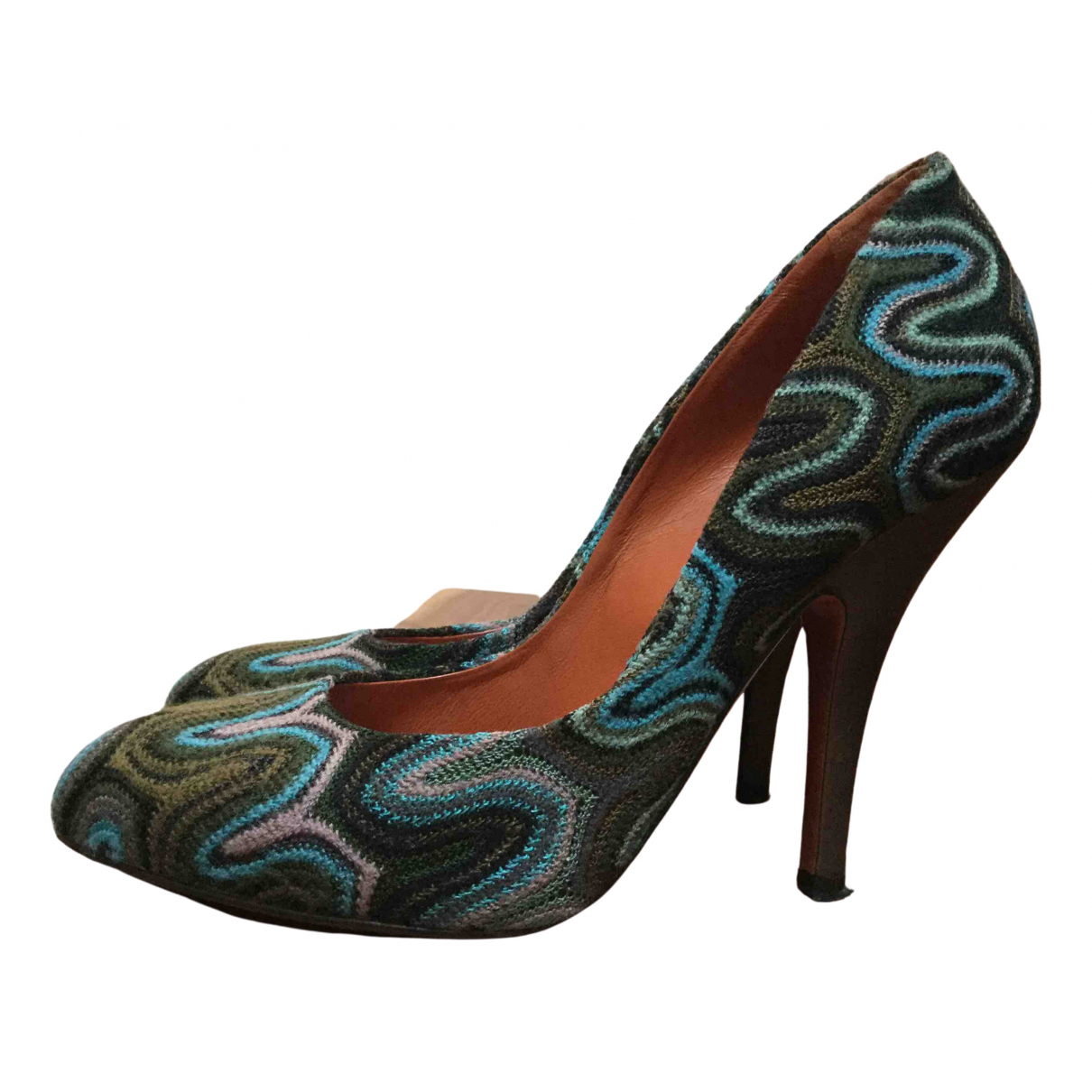 Missoni \N Multicolour Tweed Heels for Women 39 EU