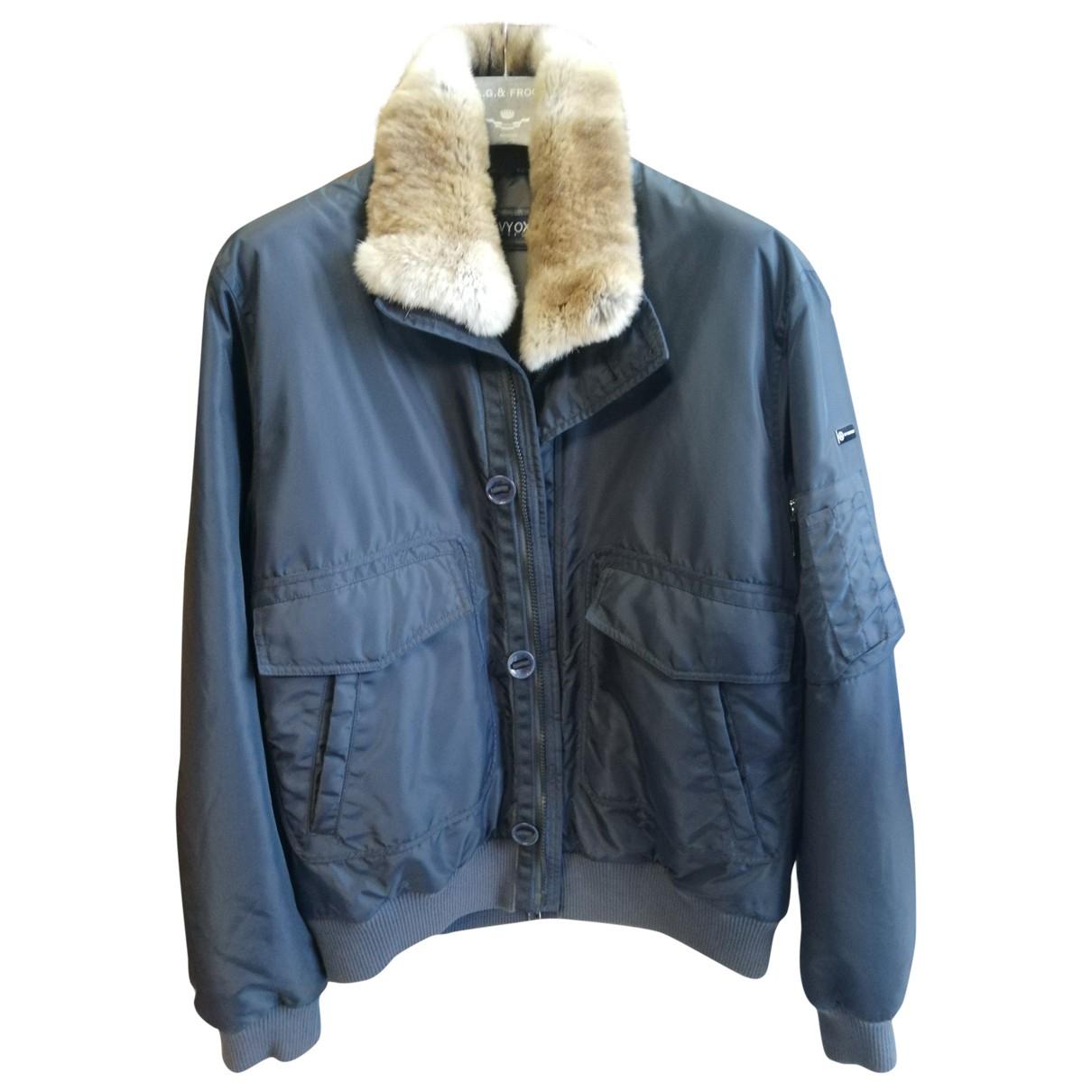 Non Signé / Unsigned \N Blue jacket  for Men 52 IT
