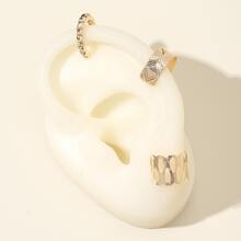 3pcs Hollow Out Ear Cuff