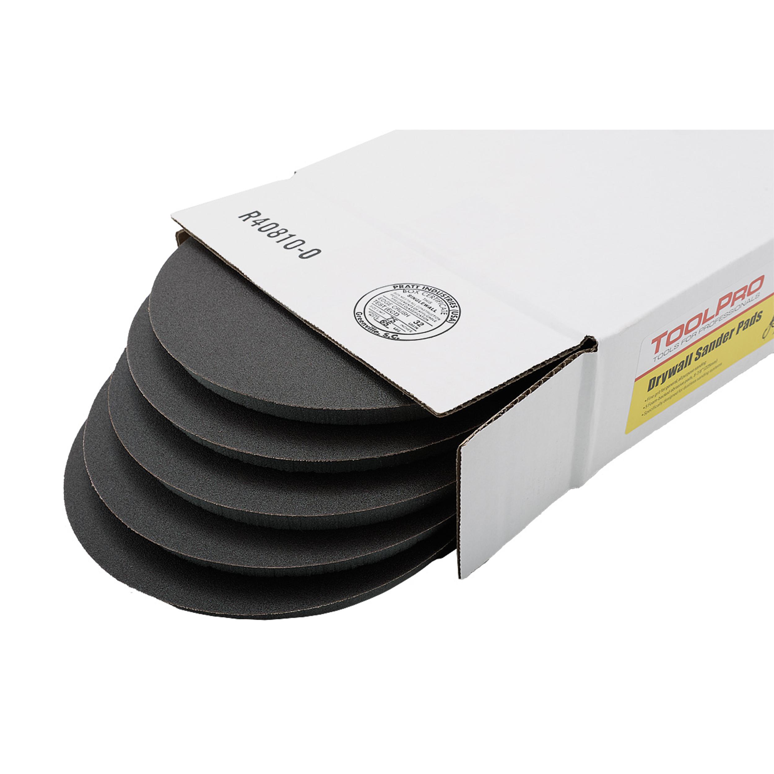 120G Drywall Sander Pads, 5-Pack