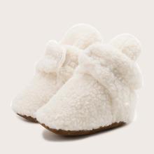 Botas de bebe con tira velcro