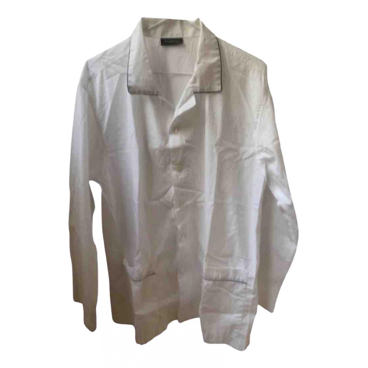 Ermenegildo Zegna - Linge de maison   pour lifestyle en coton - blanc