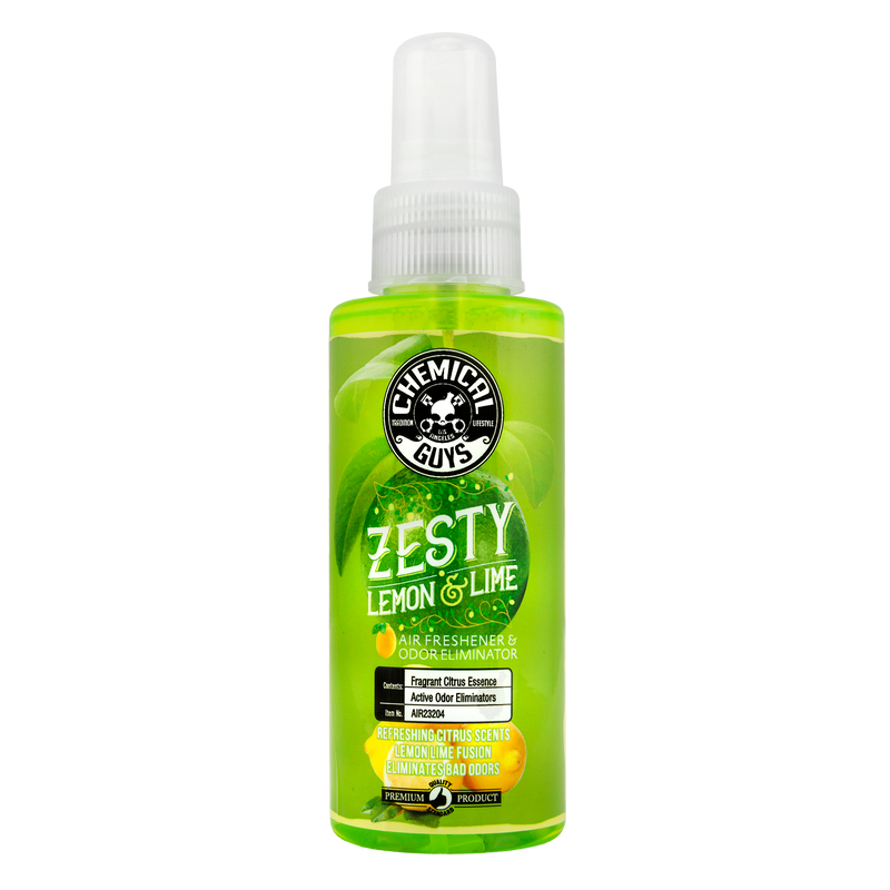 Car Air Freshener, Zesty Lemon Lime Scent - Chemical Guys