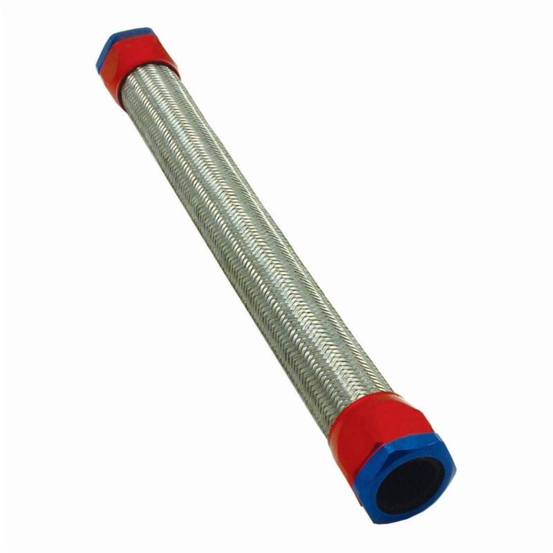 Spectre 58221 Stainless Steel Flex Radiator Hose Kit 1.5in. x 22in. Red/Blue