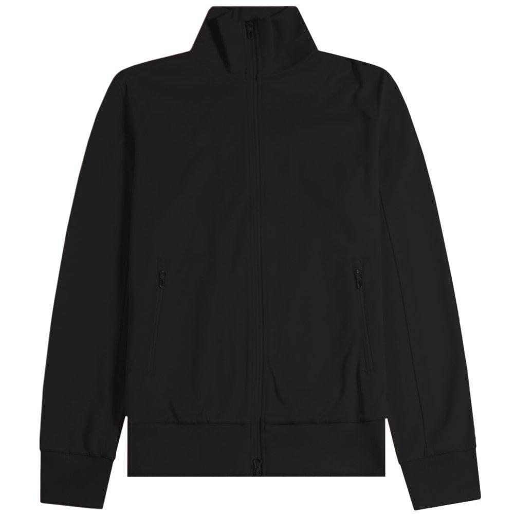 Y-3 Reverse Logo Tracksuit Jacket Black Colour: BLACK, Size: LARGE