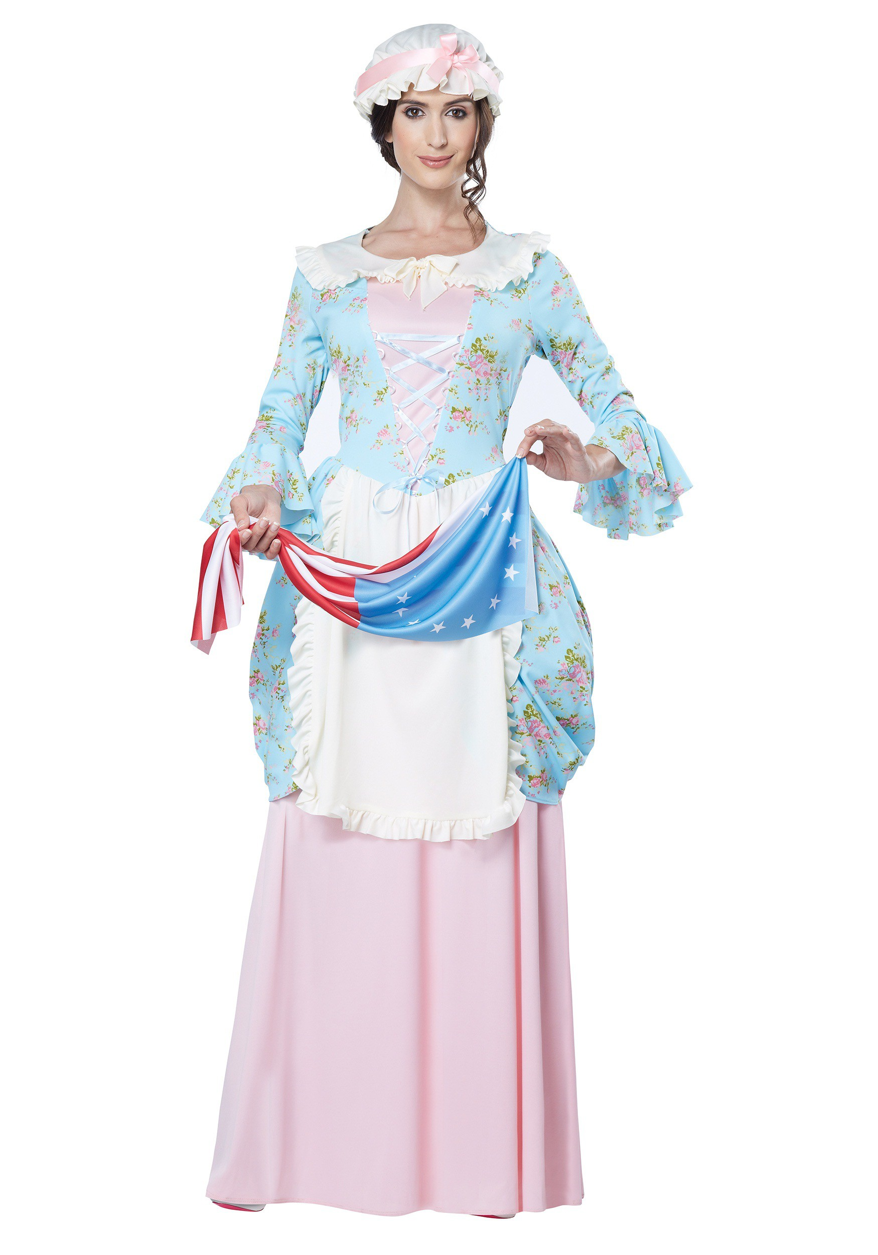 Women's Colonial Lady Costume For Adults