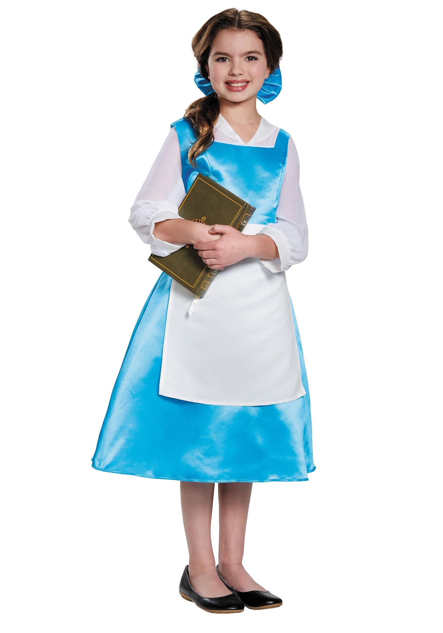 Belle Blue Costume Dress for Tween Girls