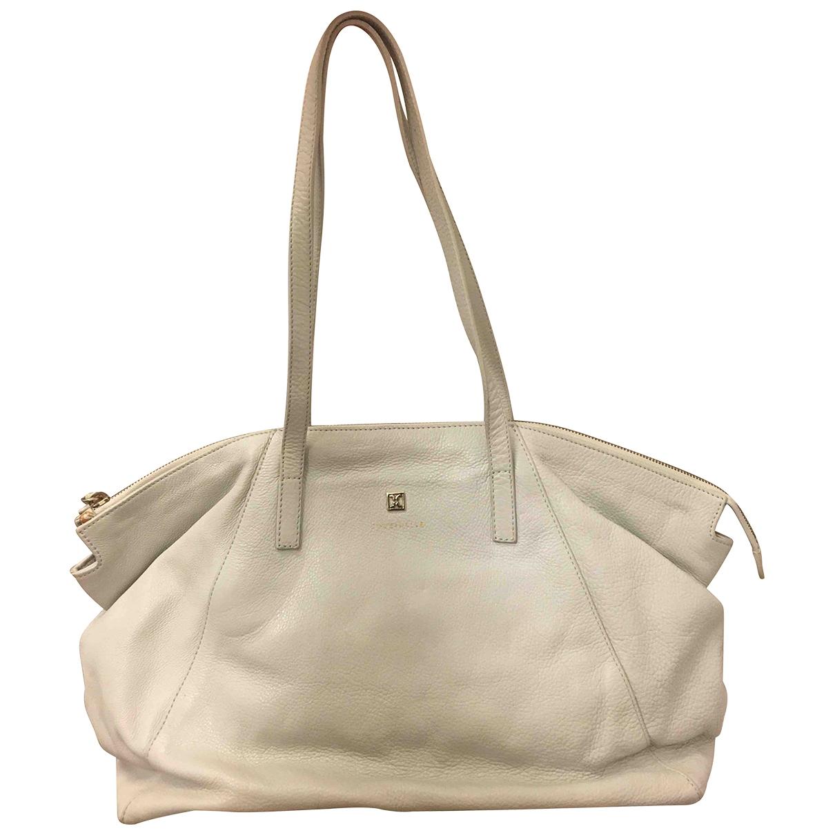 Coccinelle \N Grey Leather handbag for Women \N
