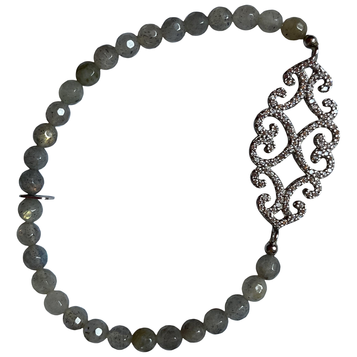 Non Signe / Unsigned \N Armband in  Bunt Metall