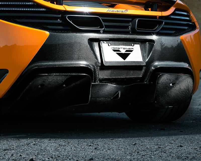Vorsteiner 4004MVR V-MC Aero Rear Diffuser Replacement For V-MC Rear Bumper Cover McLaren MP4-12C 12-13
