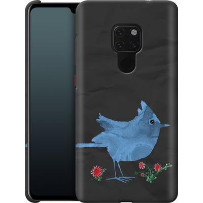 Huawei Mate 20 Smartphone Huelle - Watercolour Bird Black von caseable Designs