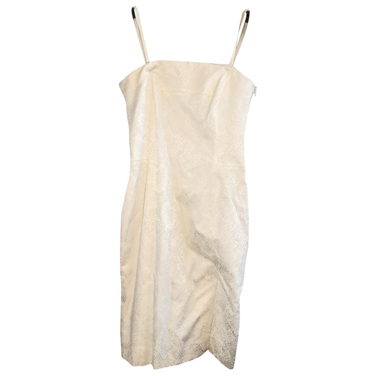 Givenchy \N Kleid in  Ecru Viskose