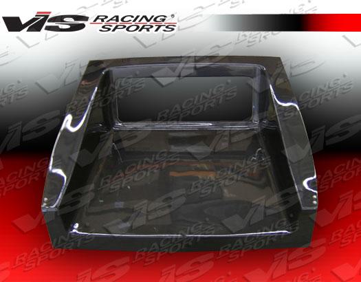 VIS Racing 88HDCRXHBTUN-020C Tunnel Style Carbon Fiber Hatch Honda CRX 88-91