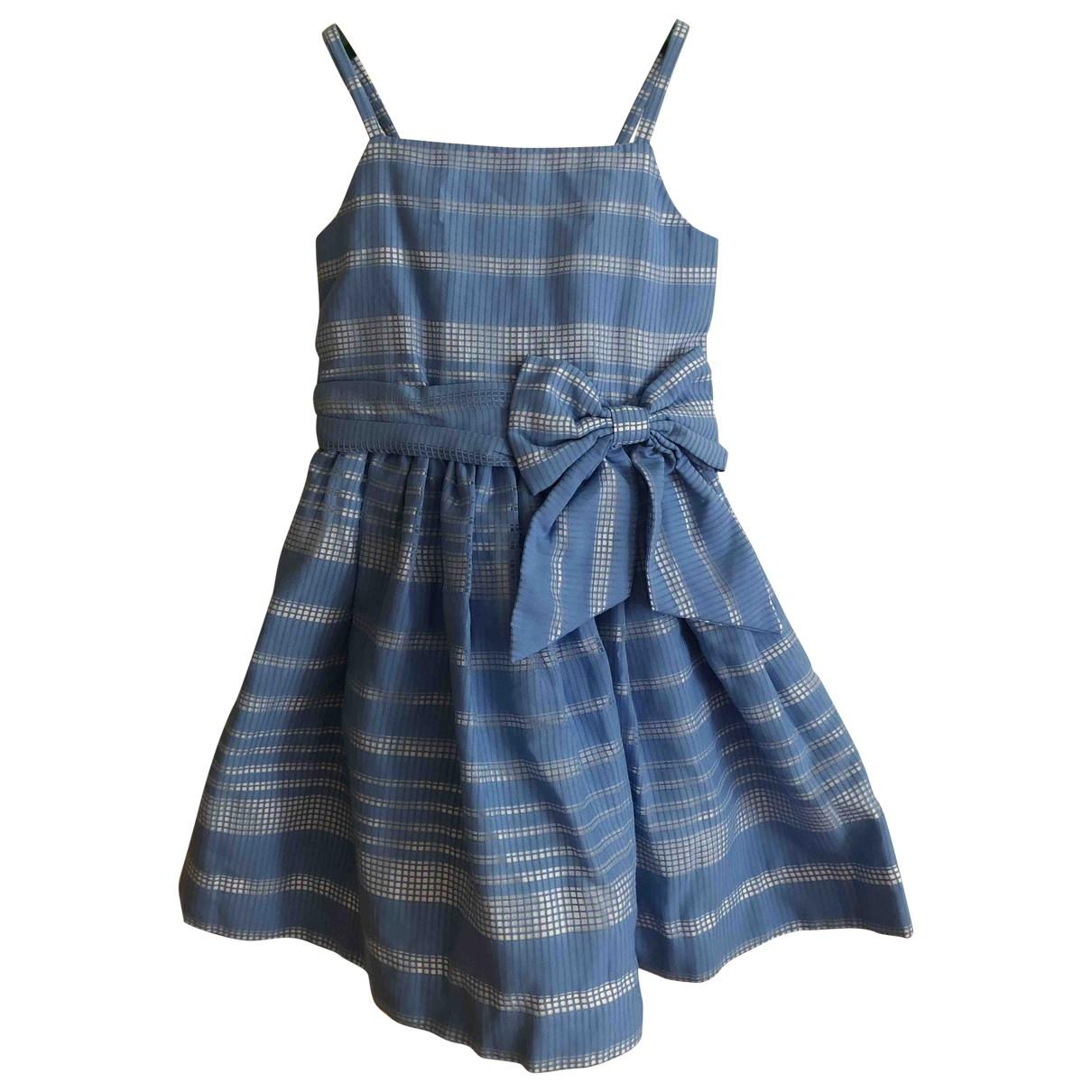 Kate Spade - Robe    pour enfant en coton - bleu