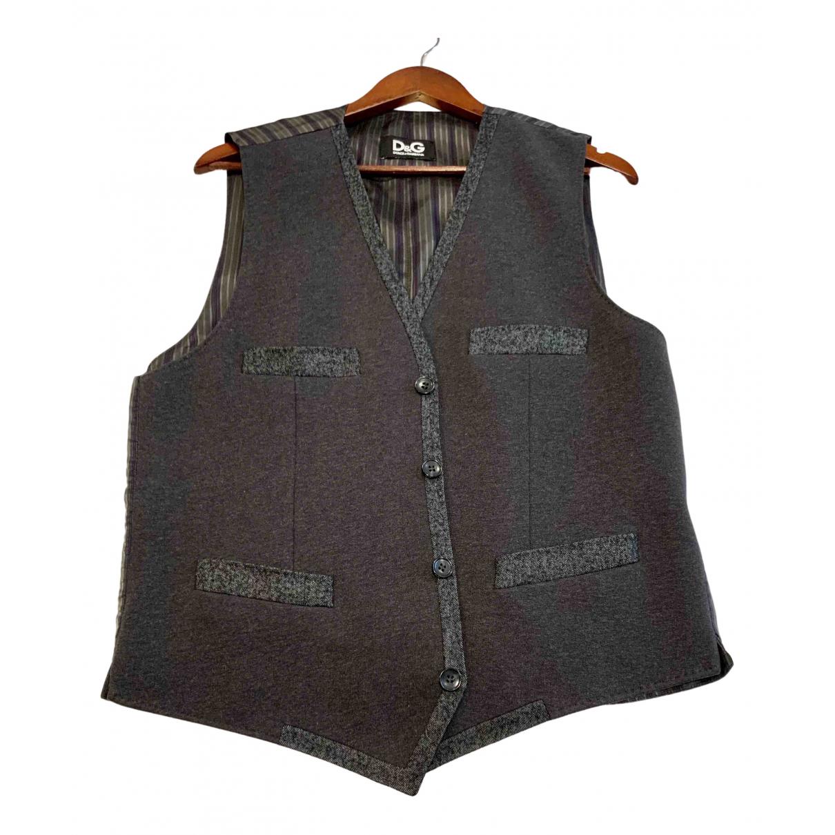 D&g \N Pullover.Westen.Sweatshirts  in  Grau Baumwolle