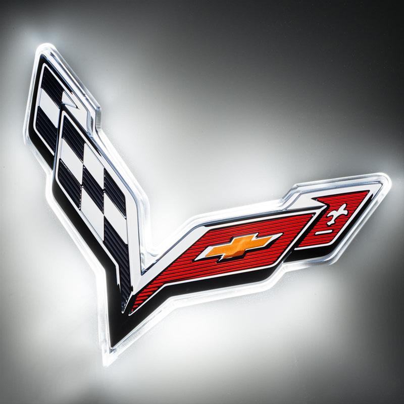 Oracle Lighting 3655-001 Corvette C7 Rear Illuminated Emblem - Dual Intensity