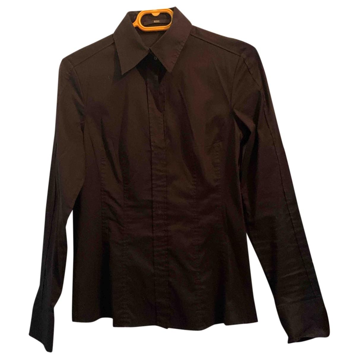 Boss \N Black Cotton Knitwear for Women M International