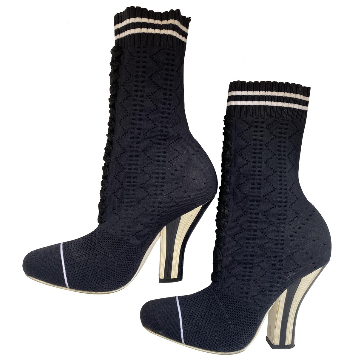 Botas de Lona Fendi