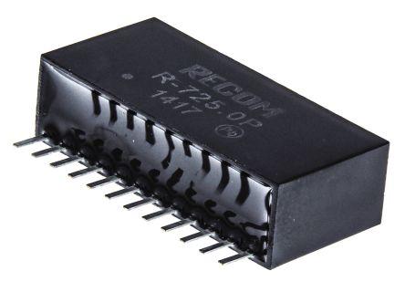 Recom Through Hole Switching Regulator, 5V dc Output Voltage, 6.5 → 28V dc Input Voltage, 2A Output Current