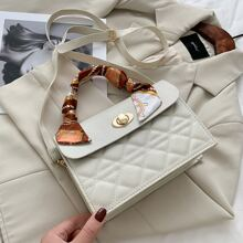 Twilly Scarf Quilted Satchel Bag