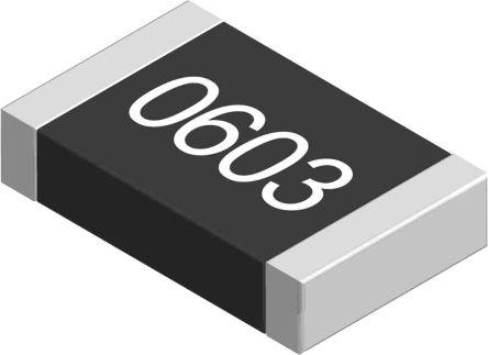 Yageo 7.5 kO, 7.5 kO, 0603 (1608M) Thick Film SMD Resistor 1% 0.1W - AC0603FR-077K5L (5000)
