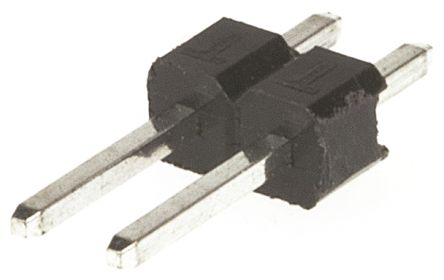 HARWIN , M20, 2 Way, 1 Row, Straight Pin Header (10)