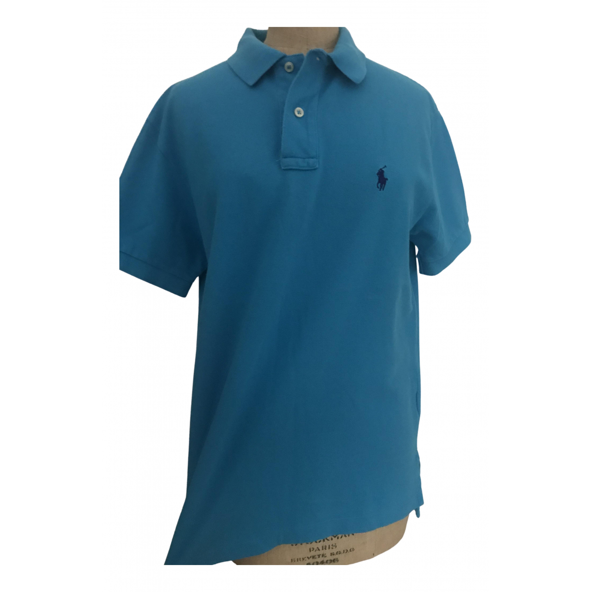Polo Ralph Lauren - Polos Polo classique manches courtes pour homme en coton - bleu