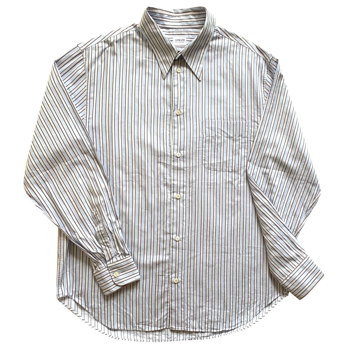 Armani Collezioni \N Multicolour Cotton Shirts for Men XL International