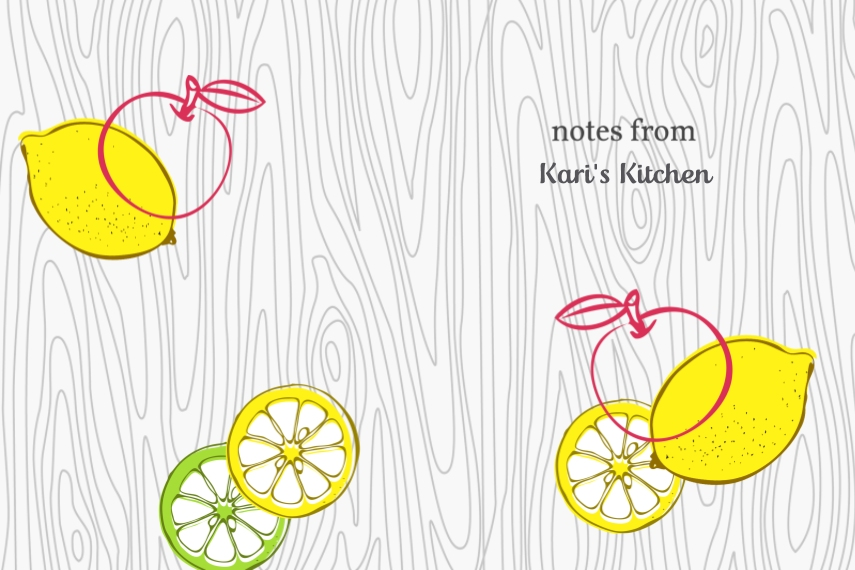 Notebooks and Journals Softcover Journal, Card & Stationery -Fruits Notes