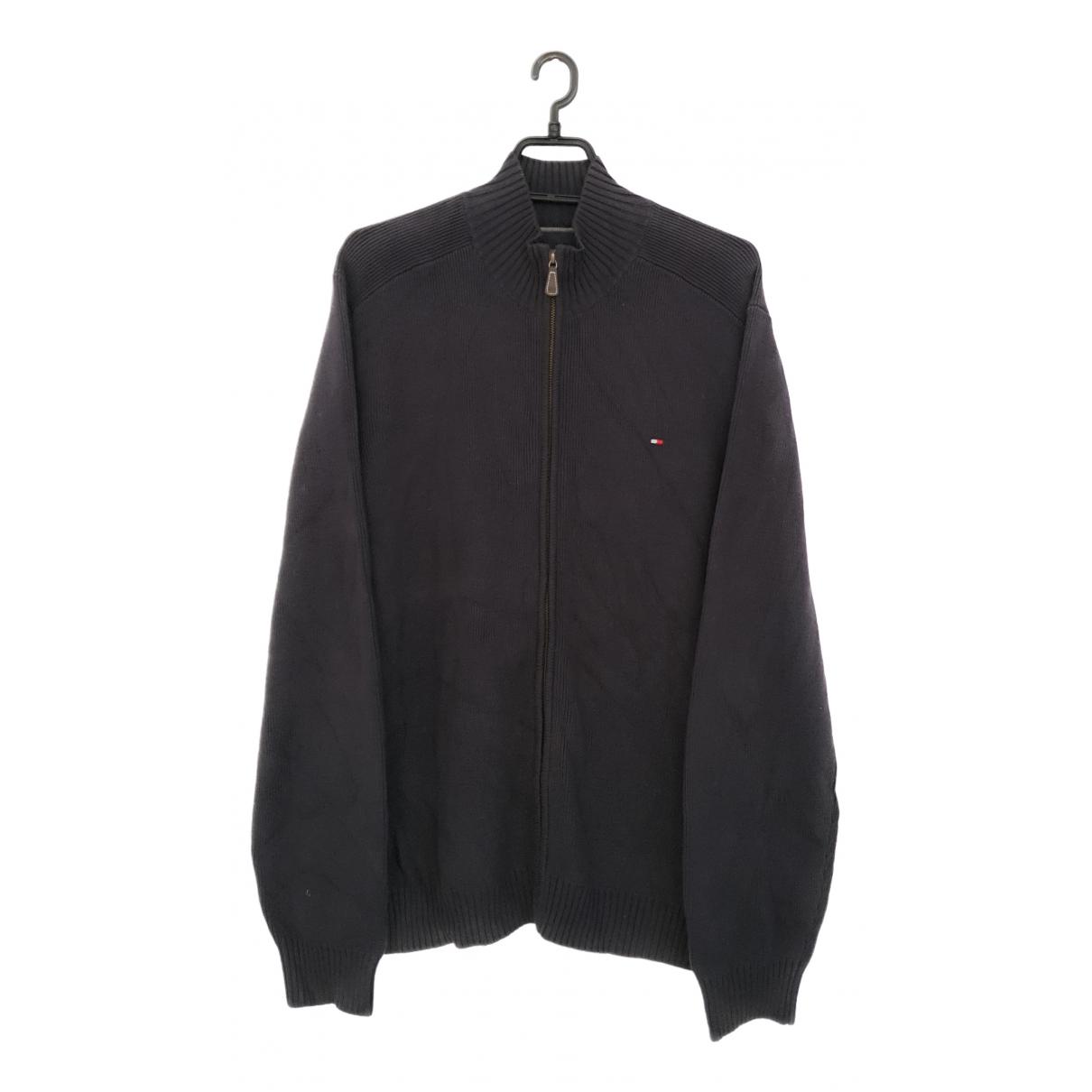 Tommy Hilfiger \N Grey Cotton Knitwear & Sweatshirts for Men L International