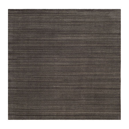 Safavieh Himalaya Collection Mirabel Striped Square Area Rug, One Size , Gray