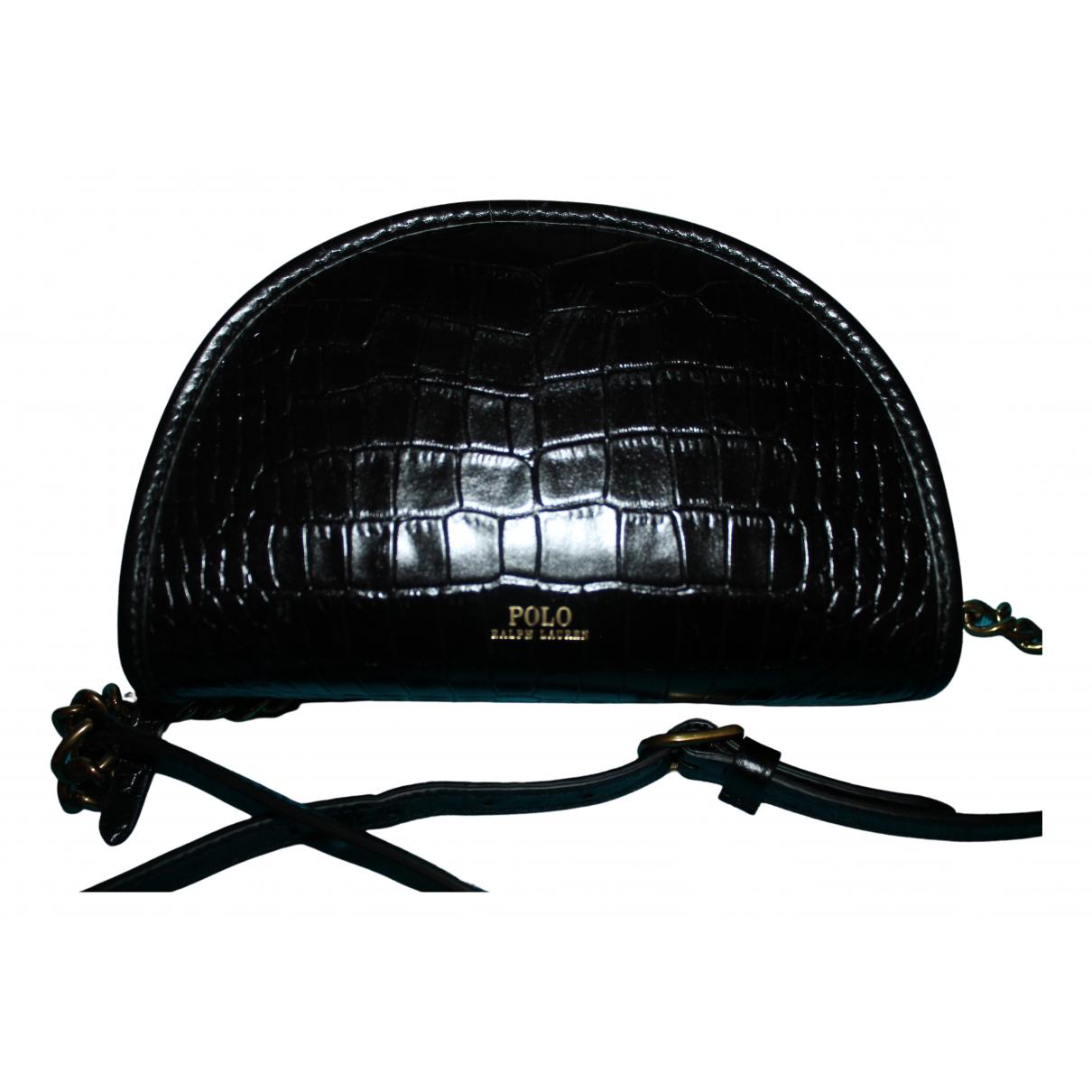 Polo Ralph Lauren N Black Leather handbag for Women N