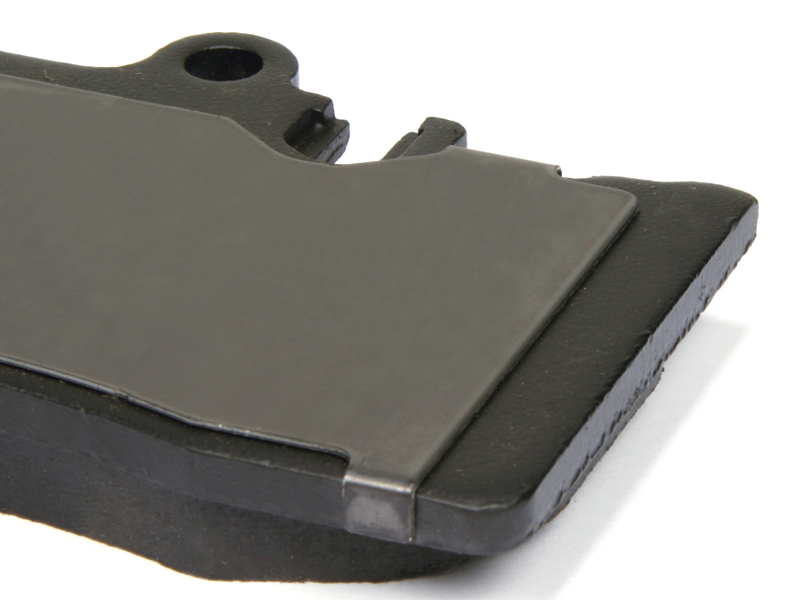 Centric Premium Ceramic Brake Pads with Shims Rear Jaguar XK 2014