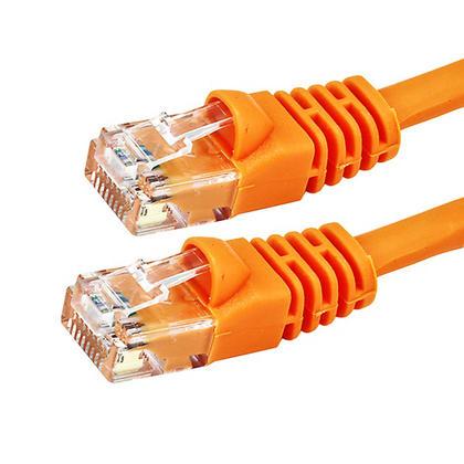 1pi 24AWG Cat5e 350MHz UTP câble réseau Ethernet cuivre nu - Monoprice® - orange