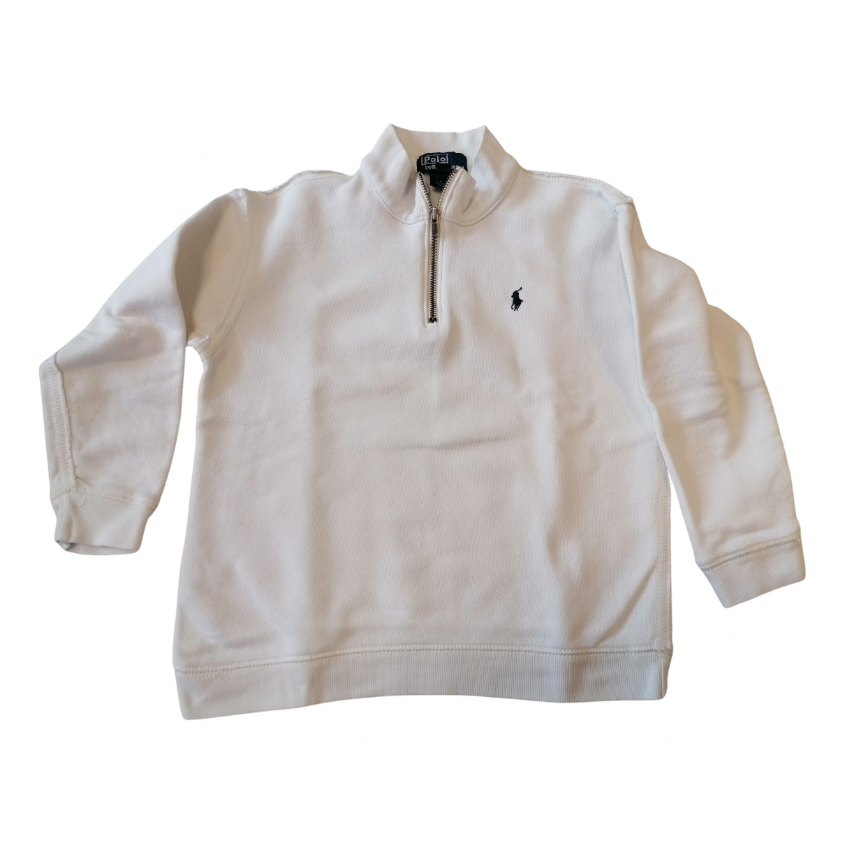 Polo Ralph Lauren N White Cotton Knitwear for Kids 3 years - up to 98cm FR