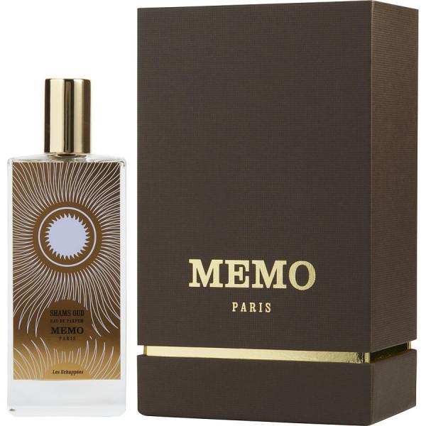 Memo Paris - Shams Oud : Eau de Parfum Spray 2.5 Oz / 75 ml