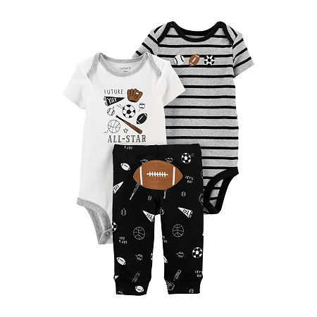 Carter's Baby Boys 3-pc. Clothing Set, 6 Months , Black