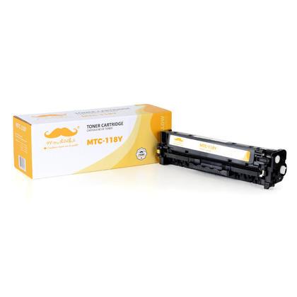 Canon 118Y 2659B001AA cartouche de toner remanufacturé jaune - Moustache®