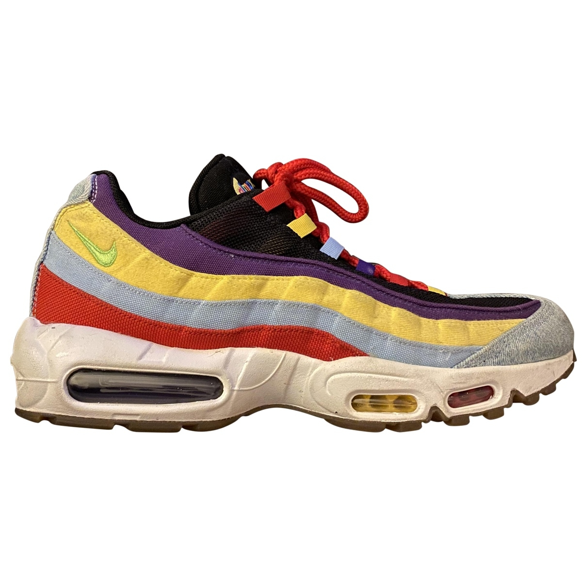 Nike Air Max 95 Multicolour Leather Trainers for Men 11 US
