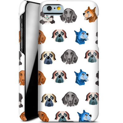 Apple iPhone 6 Smartphone Huelle - Dog Love von Mukta Lata Barua