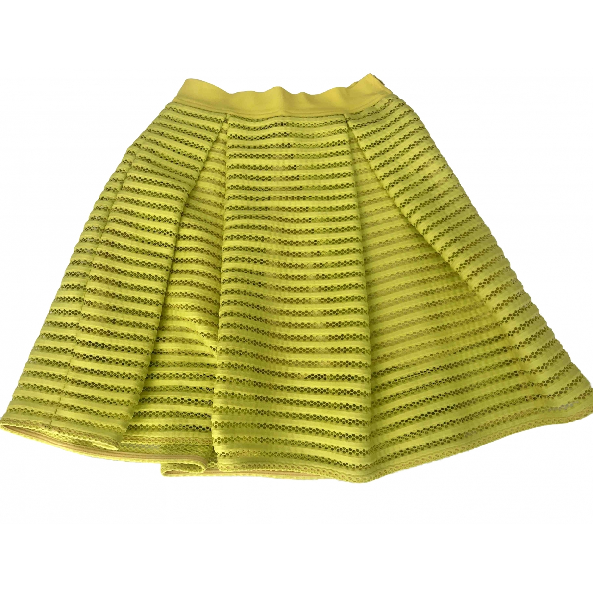 Pinko - Jupe   pour femme - jaune