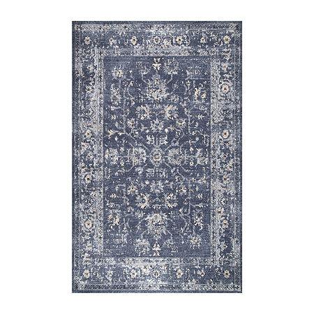 Nuloom Emma Rectangular Indoor Rugs, One Size , Blue