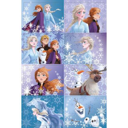 Disney Frozen 2 autocollants 3D lenticulaires, 16ct Pour la fête d'anniversaire